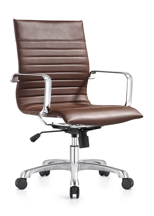 Janis mid back executive eco leather swivel chai