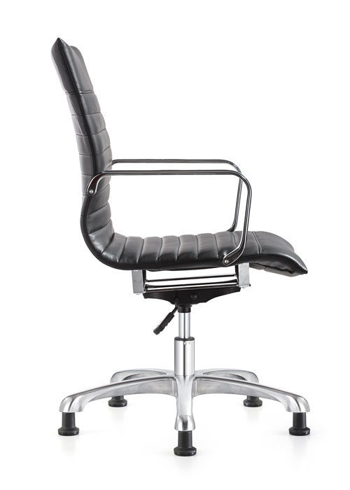 Janis mid back executive eco leather swivel chair