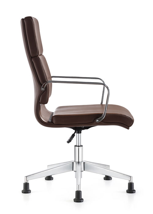 Jimi Side eco leather swivel chair