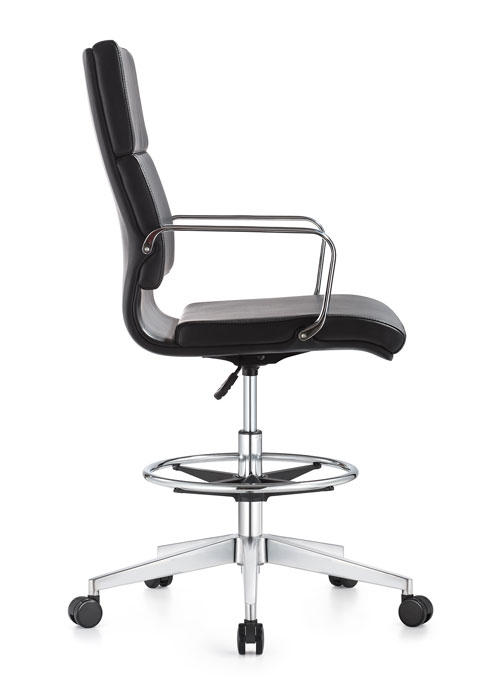 Jimi eco leather swivel chair