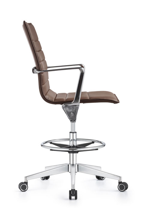 Joe eco leather swivel chair