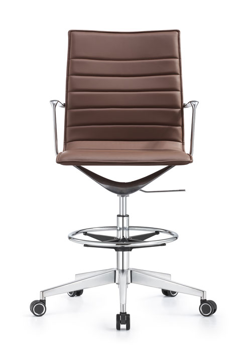 Joe Stool eco leather swivel