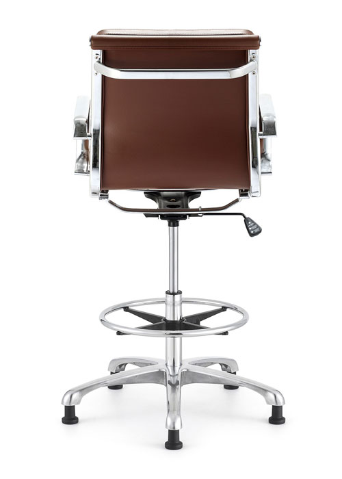 Hendrix ECO leather stool