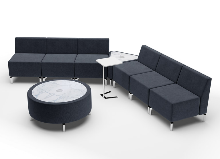 Jefferson V modular furniture configuration