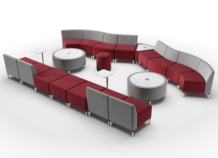 Jefferson Horseshoe Modular furniture configuration