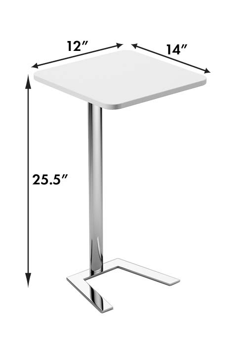 Jefferson Lounge series free standing table measurements