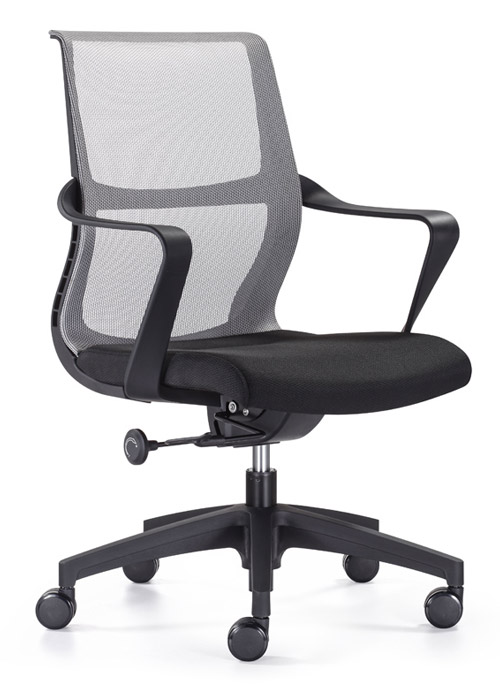 Ravi ECO leather swivel pneumatic task chair