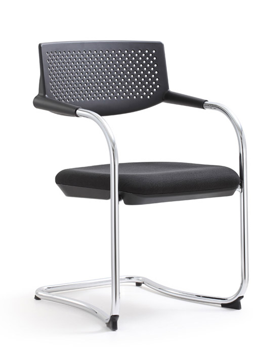 Shankar eco leather side chair