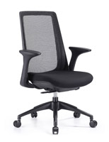 Creedence black with mesh task chair