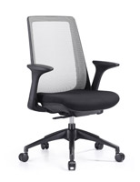 Creedence Black with grey mesh task chair