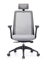 Creedence grey task chair with grey meshr
